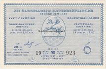 1956_stockholm_olympic_ticket_equestrian_recto