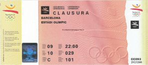 1992_barcelone_billet_olympique_ceremonie_cloture