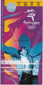 2000_sydney_billet_olympique_ceremonie_cloture