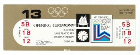 1980_lake_placid_billet_olympique_ceremonie_ouverture