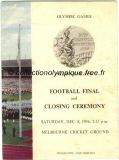 1956_melbourne_programme_olympique_ceremonie_cloture