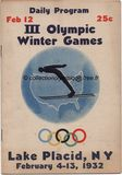 1932_lake_placid_programme_olympique_journalier